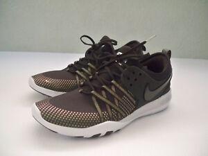 61c224583 NEW Womens Nike Free TR 7 Metallic Training Running Shoes Black SZ ...