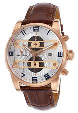 Lucien Piccard Bosphorus Chronograph Mens Watch LP-40045-RG-02S-BRW