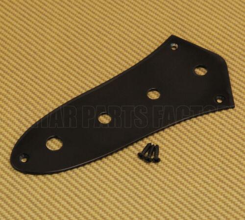 CP-JBI-B Black Mini Pot Control Plate For Fender Jazz Bass®