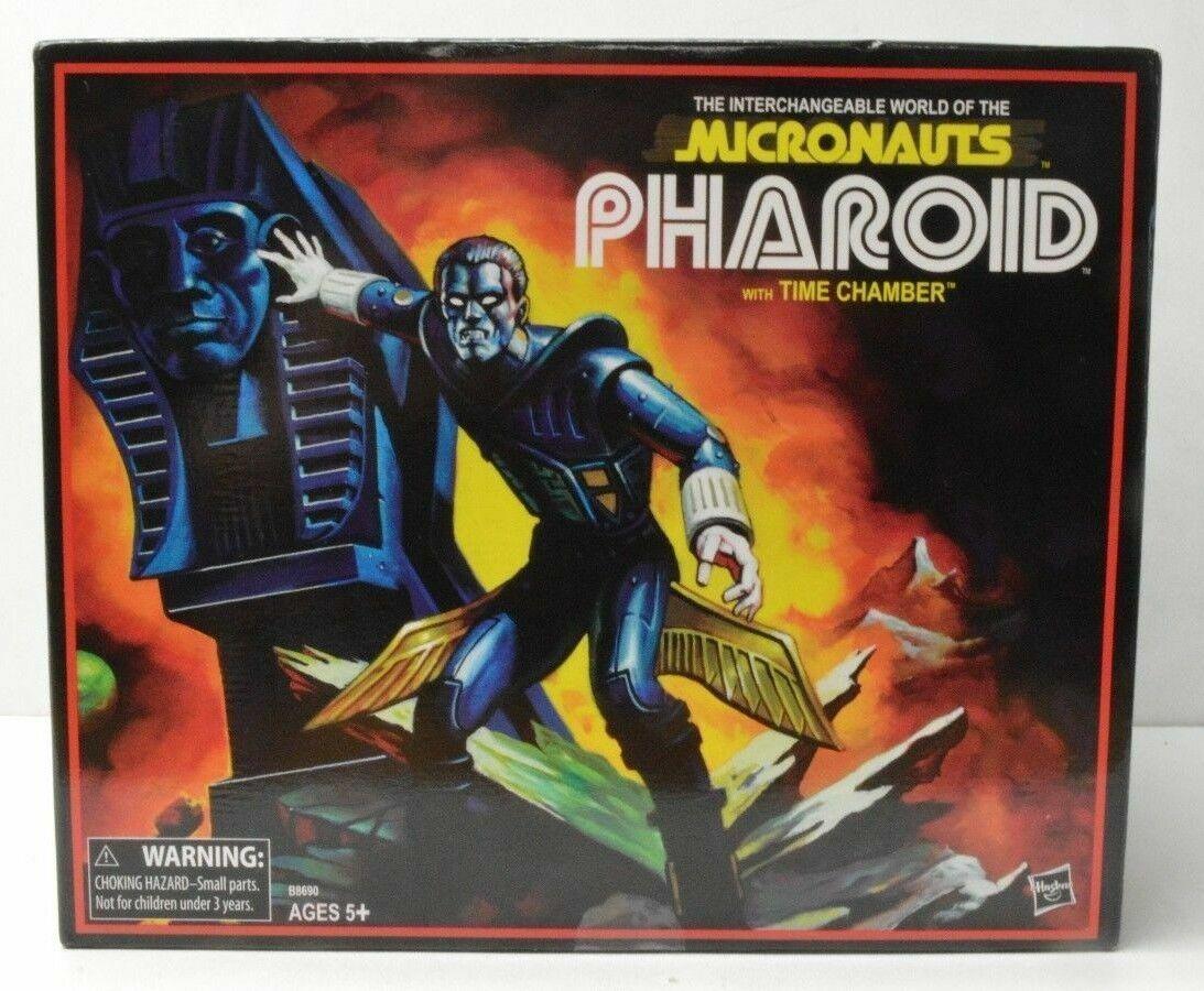 Sdcc Micronauts pharoid Classics Collection Figura Set Hasbro 2016 Nuevo