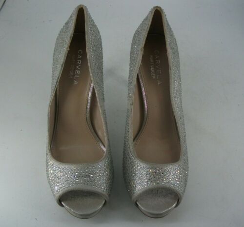 Court Oo Open Carvela Eu Js092 Kurt Toe 39 04 Shoes Geiger Diamante Uk 6 n7x1nqFS