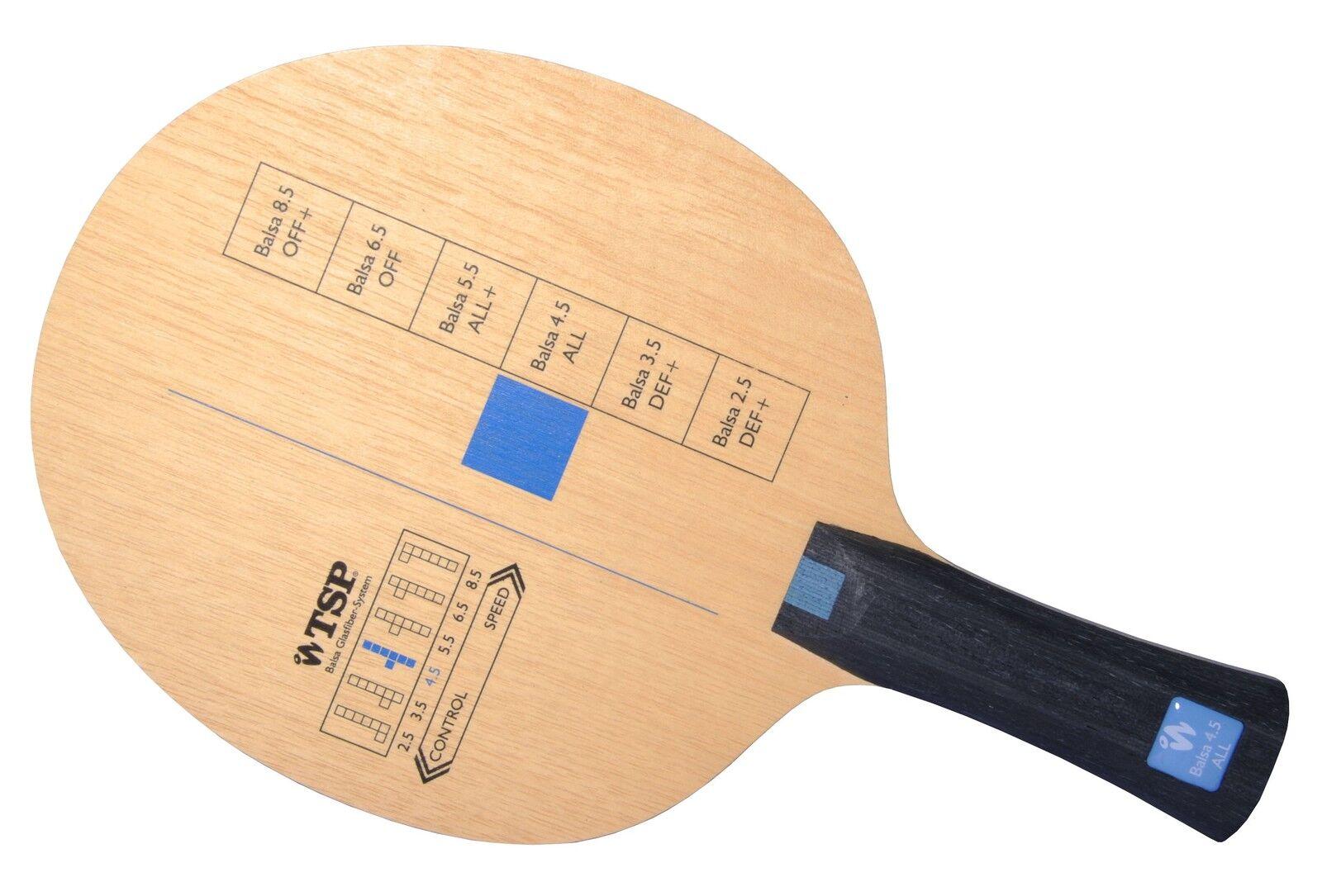 TSP TSP TSP Balsa 4.5  Tischtennis-Holz Tischtennisholz  | Um Sowohl Die Qualität Der Zähigkeit Und Härte  | Mangelware  | Lebendige Form  ac68f9