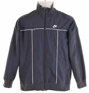 NIKE-Boys-Overjacket-12-13-Years-Navy-Blue-Polyester-LS15