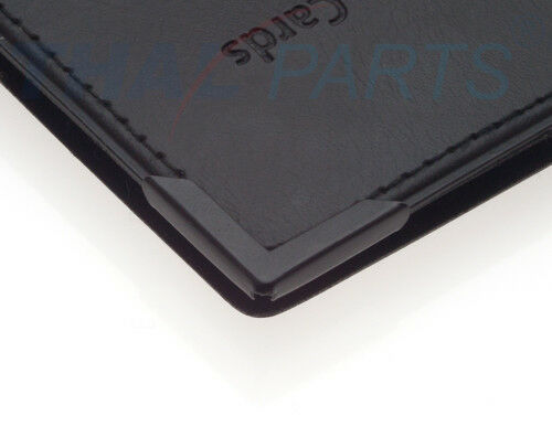 10er Pack Buchecke 22x22mm 3,5mm Füllhöhe schwarz
