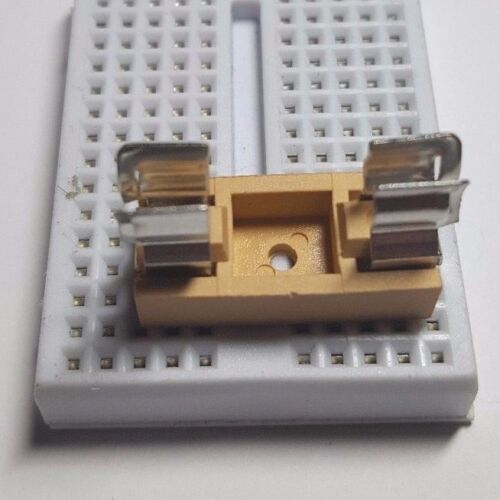 Fuse Holder with Cover Optional Fuse 5x20mm Free UK P/&P 6 Amp Rated