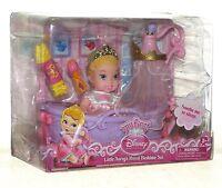 Disney Princess My First Little Aurora Royal Bedtime Set..New
