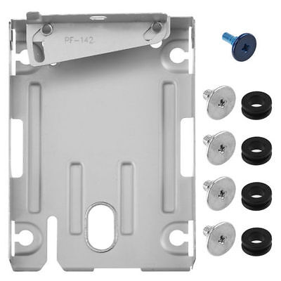 2.5' Metal HDD Hard Disk Drive Mounting Bracket Caddy For Sony PS3 Super slim -