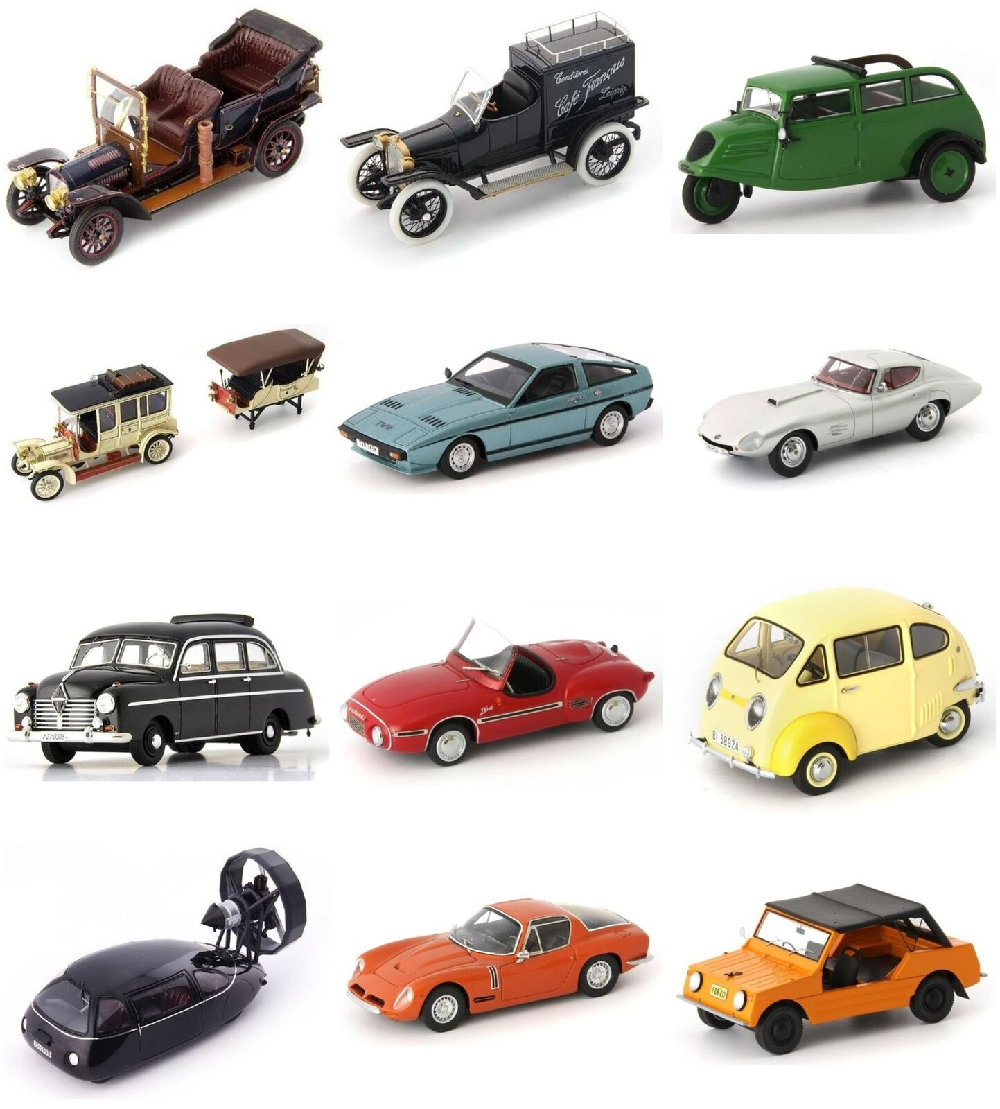 Autocult, High Quality,  Resin, Models, 1 43 Scale (PART 1)  magasin d'usine de sortie