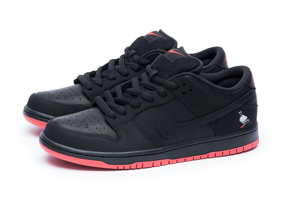 Nike SB Dunk Low Pro TRD Black Pigeon Jeff Staple Quickstrike 883232-008 LES NY