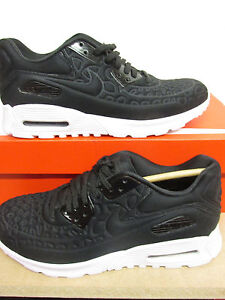 sports shoes 35b69 511ca NIKE donna Air Max 90 Ultra FELPA Scarpe da corsa 844886 001 Scarpe da  tennis