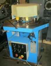 Durma 8 X 316 Capacity Hydraulic Corner Notcher Whkm 2004 Notching Machine