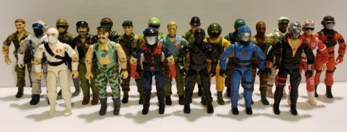 Collection Lot of G.I ALL NM-MINT!! JOE COBRA ARAH Action Figures YOU PICK