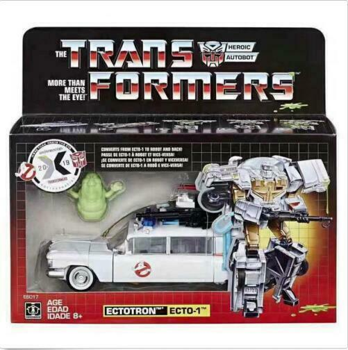 nuovo In He Transformers Ghostautobusters Ectotron Ecto1 in stock