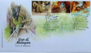 Malaysia-FDC-with-Stamps-22-08-2019-Caves-in-Malaysia