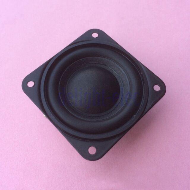 2pcs 40mm 4Ohm 3W Full Range Neodymium Magnet Audio Speaker Loudspeaker Hot DE