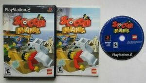 LEGO Soccer Mania PlayStation 2 PS2 Complete Game Works Tested - Very Good