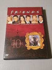 FRIENDS - SERIE TV - COFANETTO DECIMA STAGIONE completa usata OK -  3 DVD