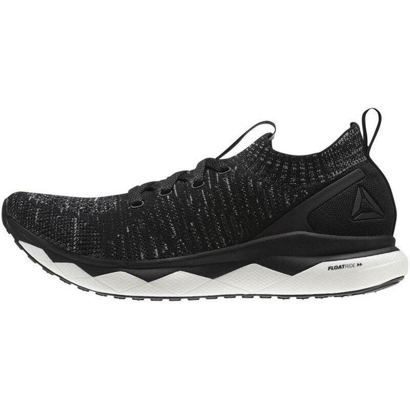 Mens Reebok Floatride Run Ultraknit Mens Running shoes - Black 3