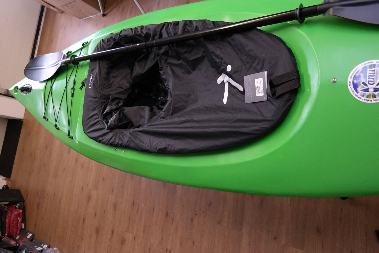 Kajak FUN Wanderkajak Tourenkajak Kayak AngelStiefel Kanu Tourenkajak Wanderkajak PaddelStiefel SET NEU 1aa1d2