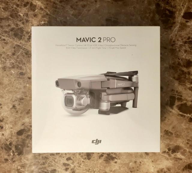 DJI Mavic 2 Pro Drone Quadrocopter Gris CP.MA.00000019.01 Nuevo