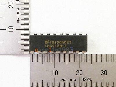 10PCS NSC LM3915 LM3915N LM3915N-1 DIP-18 LED Bar Dot Display Driver NEW IC