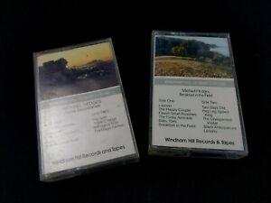 2x Michael  Hedges cassette tapes Aerial Boundaries / breakfas in the field