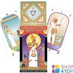 BROTHERHOOD-OF-LIGHT-EGYPTIAN-TAROT-DECK-CARDS-ESOTERIC-TELLING-US-GAMES-NEW