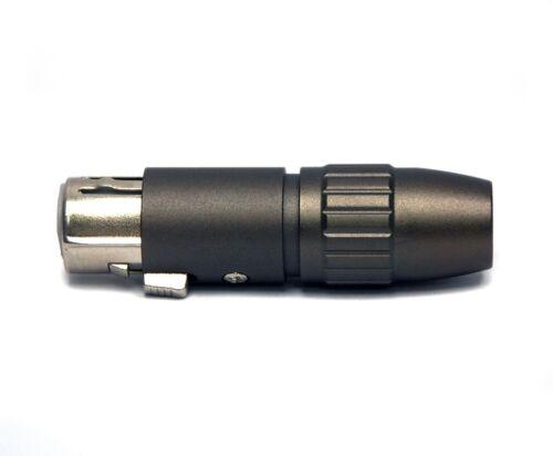 Male Socket 3P Gold 1 pair XLR Canon Mic Connector Female Plug RH Plated