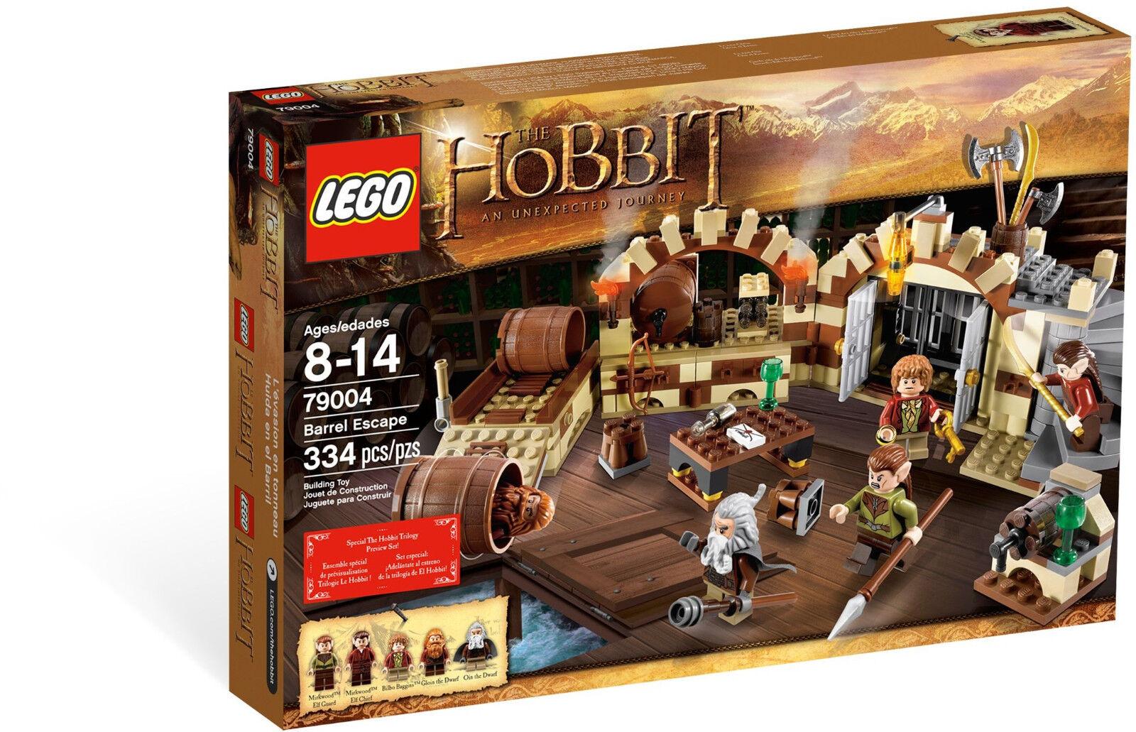 LEGO Hobbit 79004 - Die große Flucht   Barrel Escape - Oin Gloin LotR NEU NEW