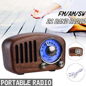 LED-Mini-Retro-Classial-BT-Wireless-Speaker-Radio-USB-FM-AUX-MP3-64GB-TF-Card