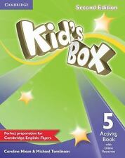 KID'S BOX LEVEL 5 ACTIVITY BOOK WITH ONLINE RESOURCES 2ND EDITION by Caroline...