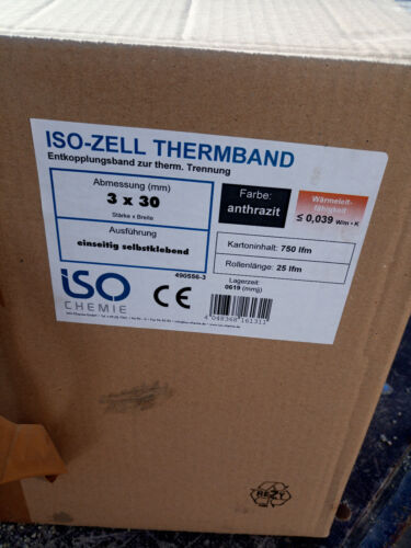 ISO ZELL THERMBAND 3x30 25m Rolle selbstkl.