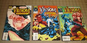 VENOM The Madness #1 thru #3 (1993) VF Condition Comic Set - The Juggernaut App