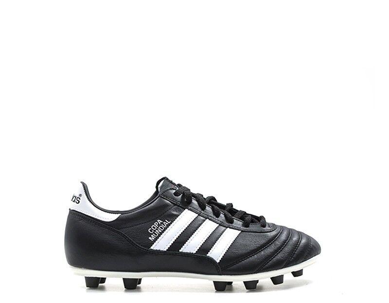 Zapatos ADIDAS hombres Calcio hombres  negro Pelle naturale 015110