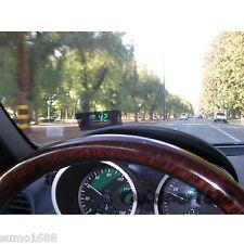 Universal GPS HUD Head Up Display MPH / KM/h  Speeding warning Plug & Play