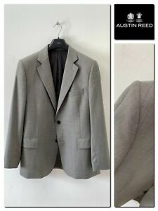 Austin Reed Men S Super 120 S Wool Suit Jacket Size 44 Ebay