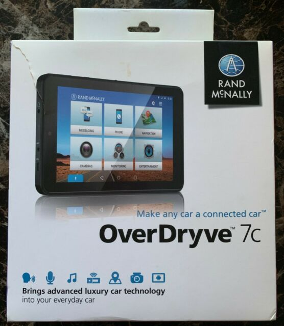 Rand Mcnally Gps >> Rand Mcnally Overdryve 7c Portable Vehicle Gps Unit