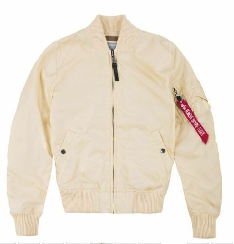 dusty pink Alpha Industries MA-1 TT Wmn 141041 caramel lemon apricot silver