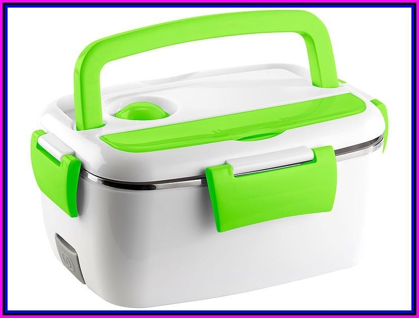 Box ACCIAIO Portavivande Termico Elettrico Borsa Termica Scaldavivande Portatile