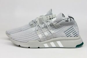 premium selection 29543 8d415 Image is loading ADIDAS-ORIGINALS-EQT-SUPPORT-MID-ADV-GREY-SILVER-