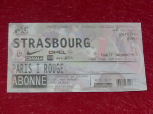COLLECTION-SPORT-FOOTBALL-TICKET-PSG-STRASBOURG-26-JANVIER-2000-Champ-France