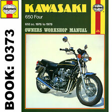 Kawasaki Z650B1 KZ650B1 Fours 1976-78 Haynes Workshop Manual
