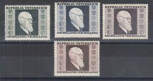 Austria-Sc-B167-B170-MLH-1946-Pres-Karl-Renner-cplt-VF