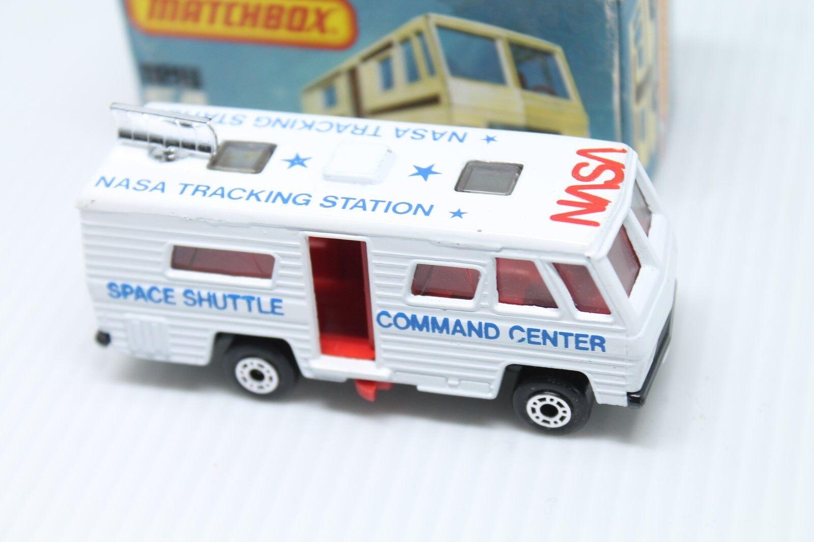 MATCHBOX SUPERFAST 54d  Mobile Home  OVP  NASA Shuttle Command Center