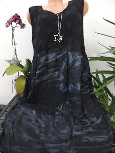 Damen Kleid Größe 46 48 50 52 54 Übergröße Kleider ...