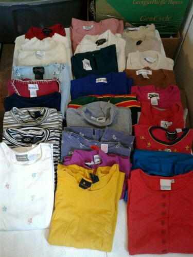 Lot of 27 Vintage Womens Shirts Marona Capizio Cat