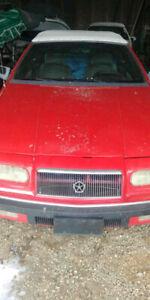 Chrysler Lebaron - Coupe Convertible