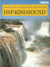 Yamaha Katalog Prospekt Kinosound DSP-A2070 DSP-A970 DSP-E1000 RX-V660 RX-V470
