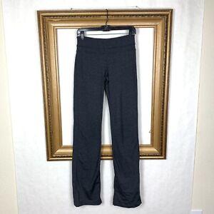ba6b4a1b24a86 Prana ST Yoga Pants Gray Wide Leg Flare Tall Inseam Stretch Athletic ...