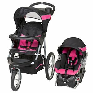 Image Is Loading Travel System Baby Trend Jogger Infant Girl Car